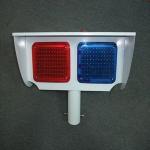 Safety Solar Warning Sign Aluminium Shell Traffic LED Flashing Signs