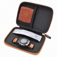 China Customized watch case , with hard shell, shake-proof and easy to collect on sale