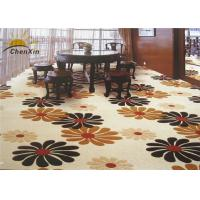 China High Definition Commercial Floor Carpets Low Pile , Wall To Wall Carpet Nylon Printed wholesale