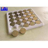 Quality Primary Lithium Cell Battery , 240m Ah Rechargeable Coin Cell Battery 3 Volts for sale