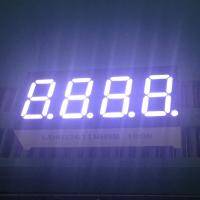 "China 0.36"" 4 Digit 7 Segment LED Display IC Compatible Low Power Consumption wholesale"