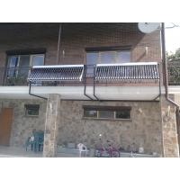China Storage Separate Pressurized Solar Water Heater , Two Copper Coils Stainless Steel wholesale