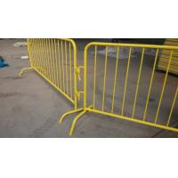 China Hot-Dipped Galvanized Pedestrian barriers@Pedestrian Barriers, Used Crowd Control Barriers, Crowd Control Barricade wholesale
