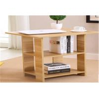 China Household Floor Standing Corner Shelves , Lightweight Stable Wooden Corner Shelf wholesale