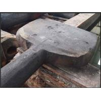 China 16Mn Single Heavy Hook Forging Boat Rudder For Ship Machine / Oil Platform wholesale