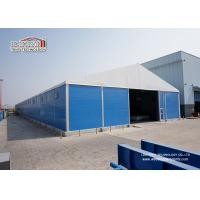 China Solid Sidewall Warehouse Tent , Aluminum Structure Long Life Span Building wholesale