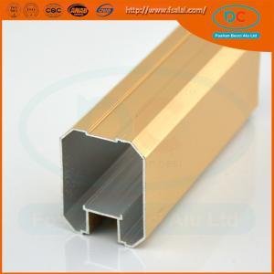 China 2017 Glossy brush aluminum window profile, Matt aluminum window section, window profile wholesale