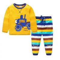 China Summer  T-shirt & Pants Boys Clothing Sets 2 Pcs Children'S Apparel wholesale