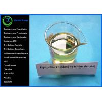 China Injectable Grade Pale Yellow Liquid Boldenone Steroids Equipoise Boldenone Undecylenate For Bodybuilding wholesale