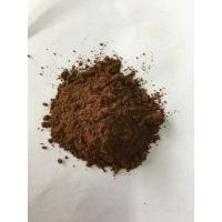 China Dark Brown Natural Cocoa Powder / Alkalized Cocoa Powder PH Value 6.2-7.6 wholesale
