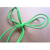 China Garment Green Cotton Braiding Cord Colored Waxed Hard Laid Cotton Cord wholesale