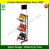 China Single Sided Wine Display Rack Tower wholesale