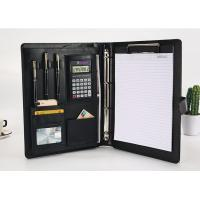 Quality Executive Personalized Leather Padfolio Dimension 32 X 25 X 2.5 Cm With Calculator for sale