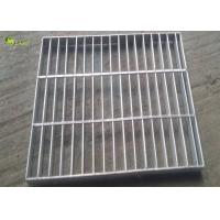 China Galvanized Steel Bar Drain Grating Cover Driveway Floor Cutting Stair Treads wholesale