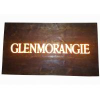 China Custom Resin Illuminated Wooden Signs Wall Mounted Personalized Bar Signs wholesale