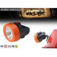 China OEM Safety Miners Helmet Light , ABS Materials 2.8Ah Hard Hat Headlamp  wholesale