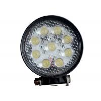 China Round 9 LED 12V LED Work Lights Cars 24v 4.5 Inch 27W With CREE Chips wholesale