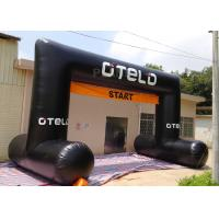 China Black Custom Inflatable Arch Oxford Cloth Material UV Protection wholesale