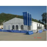 China Wind Resistant Clearspan Fabric Structures 15MX30M For Trade Show wholesale