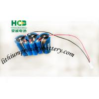 China Blue color 10.8V a supercapacitor battery pack for Smart meters , 3ER34615 + UPC1550 wholesale