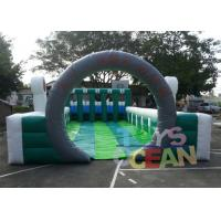 Quality Giant Funny Team Sport Inflatable Interactive Games Pony Horse Racing Run Field for sale
