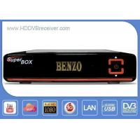 China HD DVB S2 Satellite Receiver Open Pay Channels In 30w 61w 70w Satellites on sale