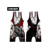 Buy cheap Customized Design High Quality Cool Cheap Wrestling Singlets , Sublimated Printing Cool Dry Wrestling Singlets from wholesalers