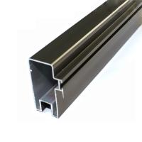 China High Precise Reliable Aluminum Curtain Wall Profile In Different Surface Treatment wholesale