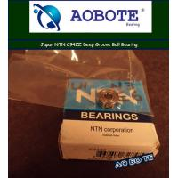 China Single Row Japan NTN Ball Bearings 694ZZ With ZZ Seal ABEC 5 wholesale