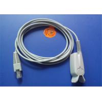 China Palco Spo2 Sensor Probe , Soft Tip / Spo2 Finger Probe 3m Cable Length wholesale