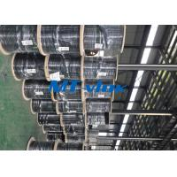 China Welded Super Long Multi core Stainless Steel Coiled Tubing For Marine wholesale