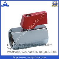 China Miniature ball valve with Chromed Plated wholesale