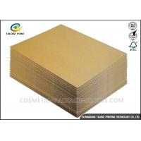 China 120 / 140GSM Paper Packing Material , Recycle Packing Material For Corrugated Cardboard wholesale