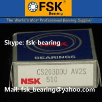 China NSK Deep Groove Ball Bearings CS203DDU Insert Bearings for Printing Machine wholesale