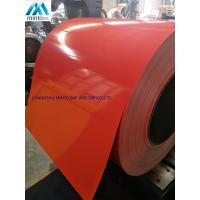 China G3312 A755 JIS ASTM Pre Painted Galvanized Steel Coils 600mm - 1250mm Width wholesale