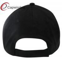 Black Crest Cotton Baseball Cap with Nufc Embroidery Patch for Adults/ Sports Cap