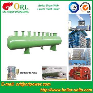 China Diesel Water Heat Boiler Steam Drum Thermal Insulation SGS Certification wholesale