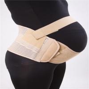 China Trendy elestic tall body women's Pregnancy maternity lumbar back fish line support belts wholesale