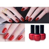 China Lacquer Varnish Enamel UV LED Gel Nail Polish / Soak Off Color Gel wholesale