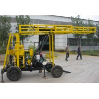 China Hydraulic water well drilling rigs , exploration water drill rig east to move wholesale
