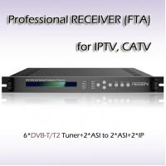 China RFR1206 6*DVB-S2 input Demodulator Professional Receiver QPSK 8PSK wholesale
