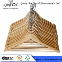 Buy cheap top grade natural wooden hanger hotel hanger from wholesalers
