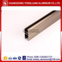 Buy cheap Aluminum factory supply bronze anodized window and door aluminum profiles from wholesalers