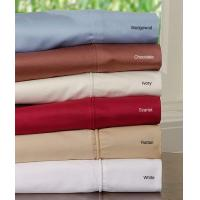 Quality Cotton Sateen 1200 Thread Count Sheet Set (S-01) for sale