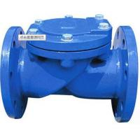 China DN250 JIS 10K Swing Check Valve Flanged Non Return Valves , Length 622mm wholesale