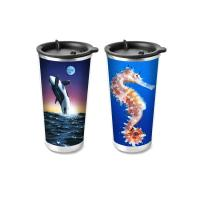 China Custom Plastic Food Grade 3D Lenticular Custom Printing Drinking Cup Plastic Kids Cups wholesale