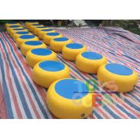 Quality Funny Water Park Equipment Inflatable Floating Walking Beans For Aqua Park for sale
