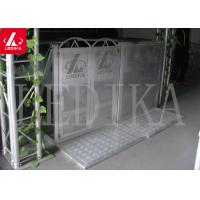 China Collapsible Aluminium Concert Pedestrian Barrier , Easy To Assemble And Disassemble on sale