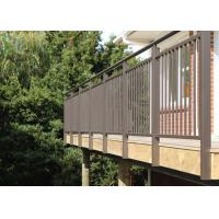 China Durability Aluminium Alloy Residential Railings with Customized Color wholesale