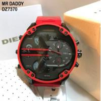 China Wholesale Diesel Mr. DADDY 2.0 Chrono Multiple Time Zone Red Silicon Strap Watch DZ7370 wholesale